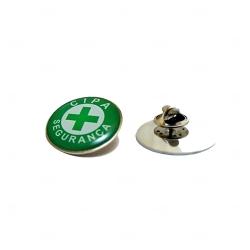 Pin  Resinado Personalizado Formato Padrão Verde