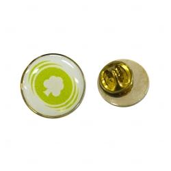 Pin  Resinado Personalizado Formato Padrão Amarelo