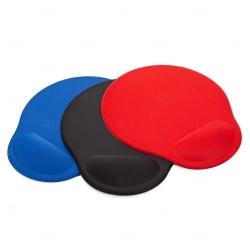 Mouse Pad Personalizado Ergonômico Vermelho