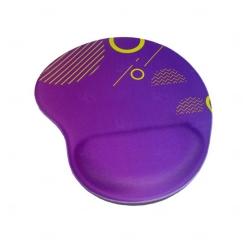 Mouse Pad Personalizado Ergonômico Roxo