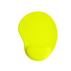Mouse Pad Personalizado Ergonômico Amarelo