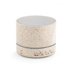 Caixa de som personalizada portátil com microfone Natural