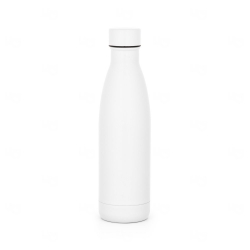 Garrafa personalizada térmica 500 ml Branco