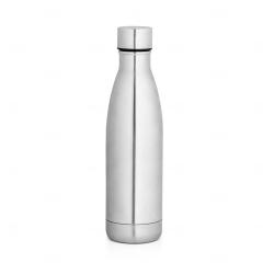 Garrafa personalizada térmica 500 ml Cromado