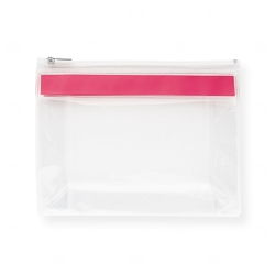 Bolsa personalizada de higiene pessoal Vermelho