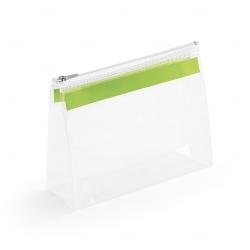 Bolsa personalizada de higiene pessoal Verde