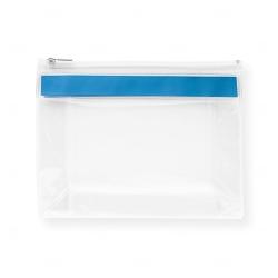Bolsa personalizada de higiene pessoal Azul