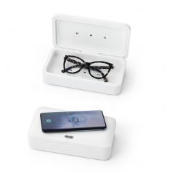 Caixa esterilizadora  personalizada com carregador wireless Fast