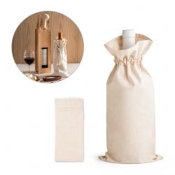 Sacola personalizada para garrafa 100% algodão