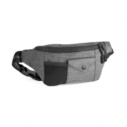 Bolsa de cintura personalizada em 300D Cinza