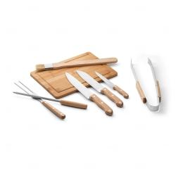 Kit personalizado para churrasco em estojo