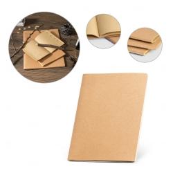 Caderno personalizado A4 com capa em cartão