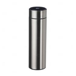 Garrafa Personalizada de Inox 450 ml com Display LED Inox