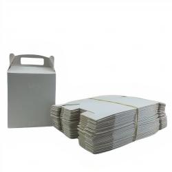 Caixa sacola personalizada papel duplex