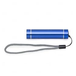 Lanterna personalizada bastão alumínio Azul