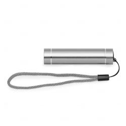 Lanterna personalizada bastão alumínio Prata