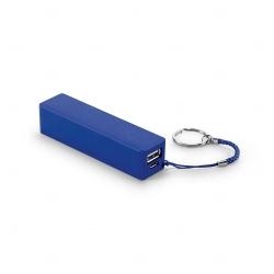Bateria portátil personalizada em ABS Azul