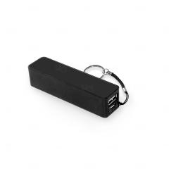 Bateria portátil personalizada em ABS Preto