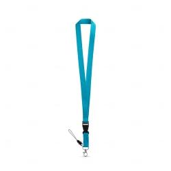 Cordão personalizado de pescoço Azul Claro