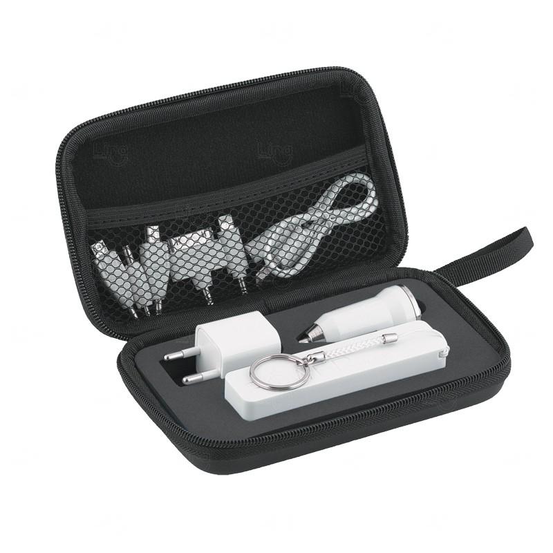 Kit Case 3 Em 1 Preto