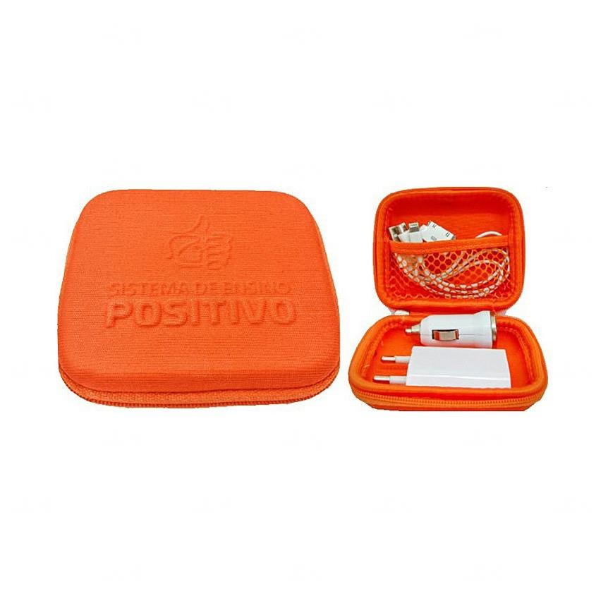 Kit Case 3 Em 1 Laranja