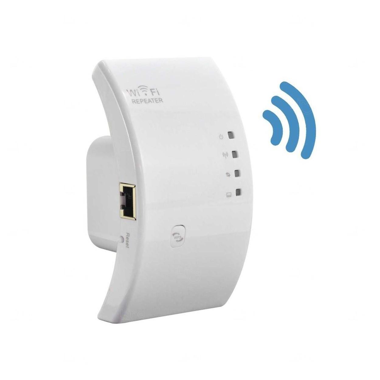 Amplificador De Sinal Wi-Fi Personalizado Branco