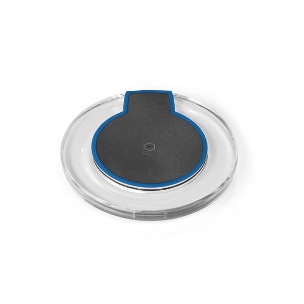 Carregador Indução Sem Fio Personalizado Azul Marinho