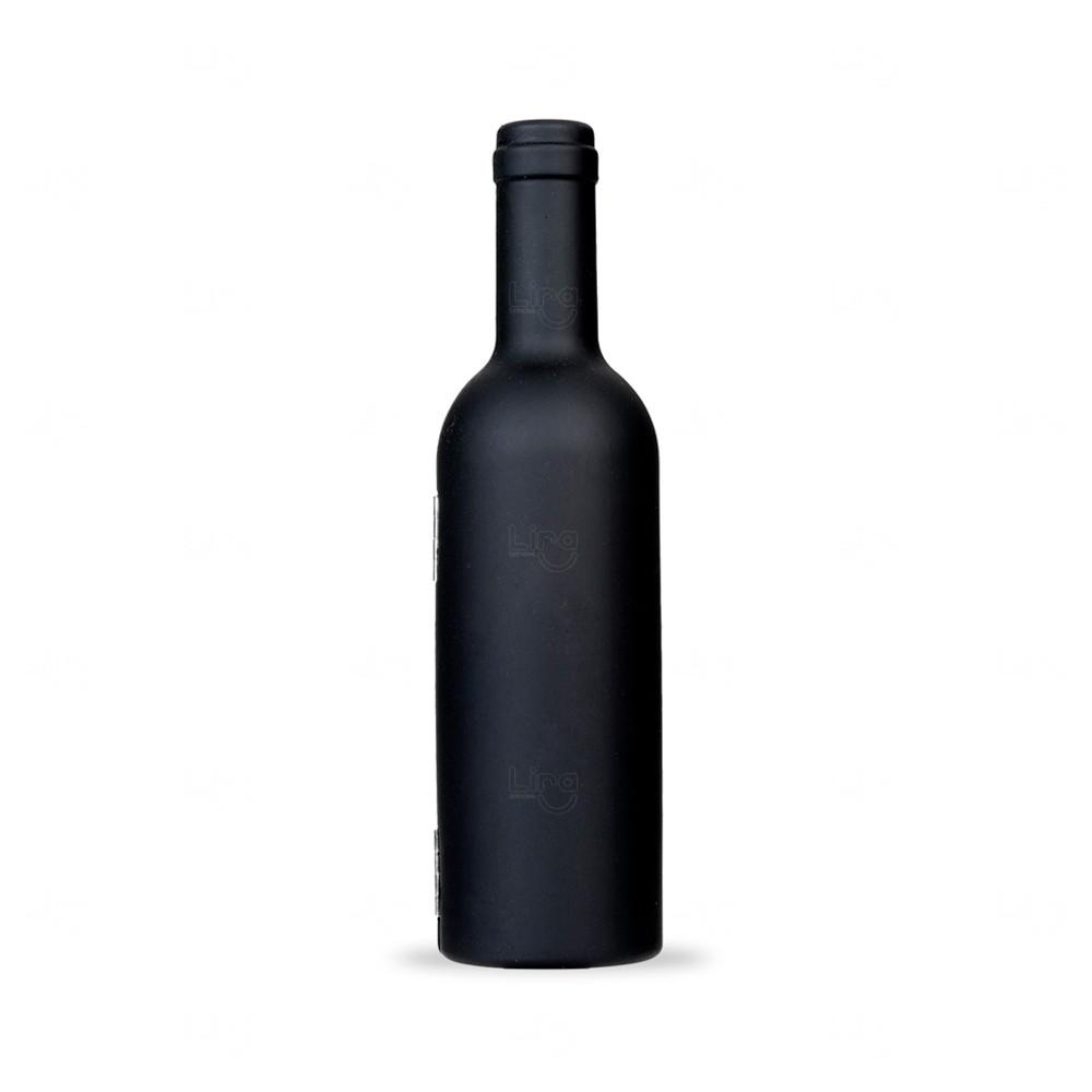 Kit Vinho No Formato De Garrafa Personalizado