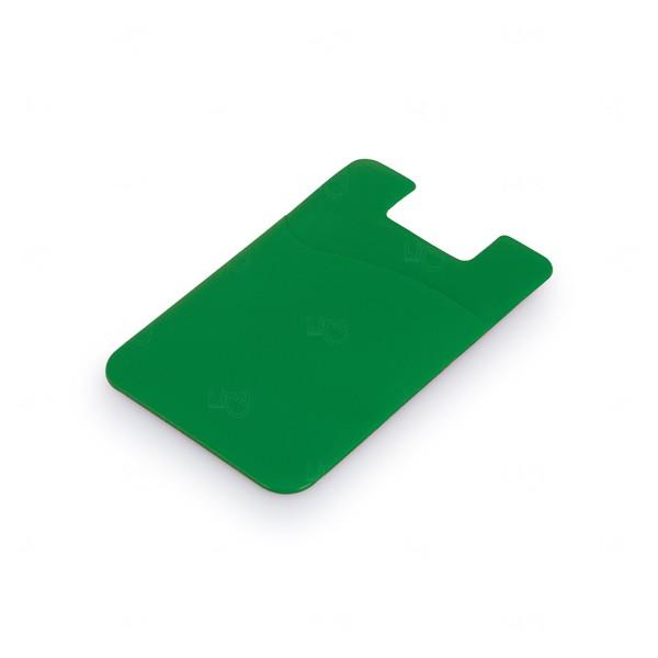 Porta Cartão Personalizado PVC Verde
