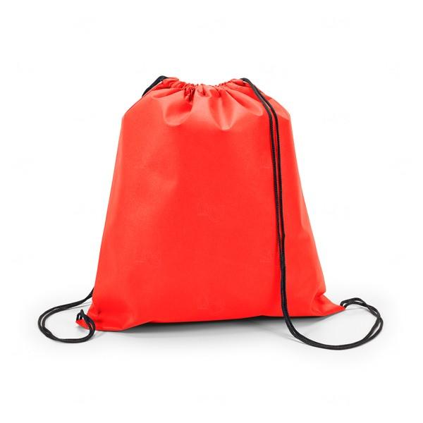 Mochila Saco Personalizada Sacochila Vermelho