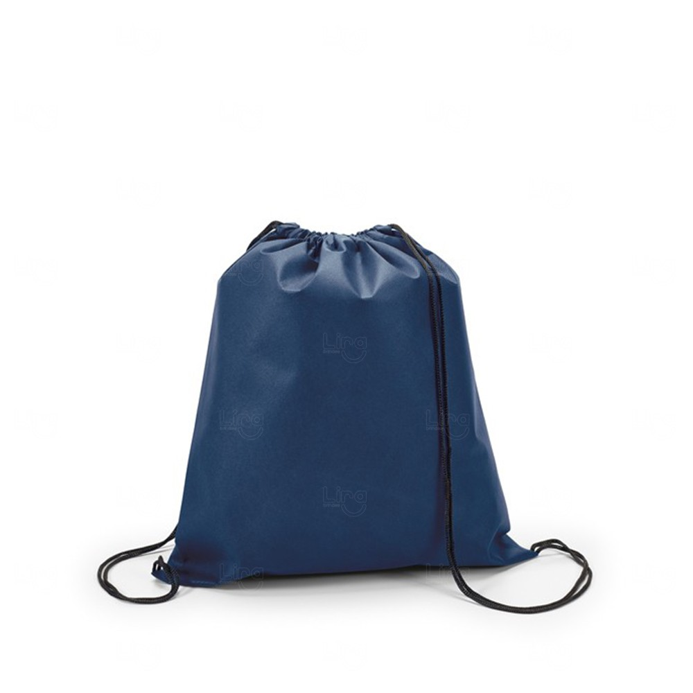 Mochila Saco Personalizada Sacochila Azul Marinho