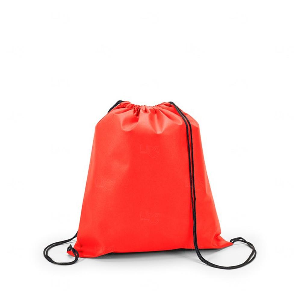 Sacochila Personalizada Vermelho