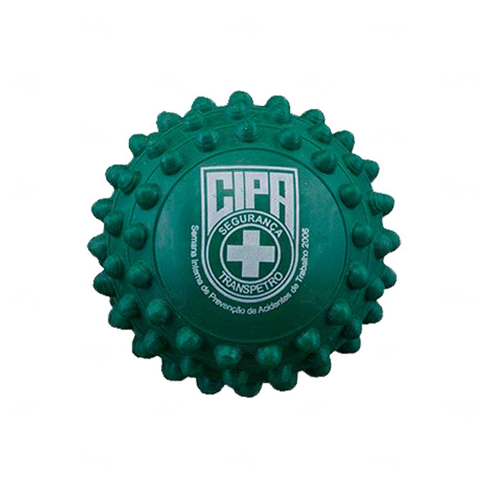 Bolinha Anti Stress Cravejada Personalizada Verde
