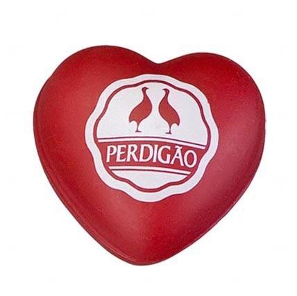 Bola Antistress Personalizada Coração