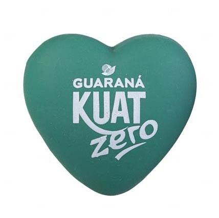 Bola Antistress Personalizada Coração Verde