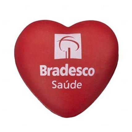 Bola Antistress Personalizada Coração Vermelho