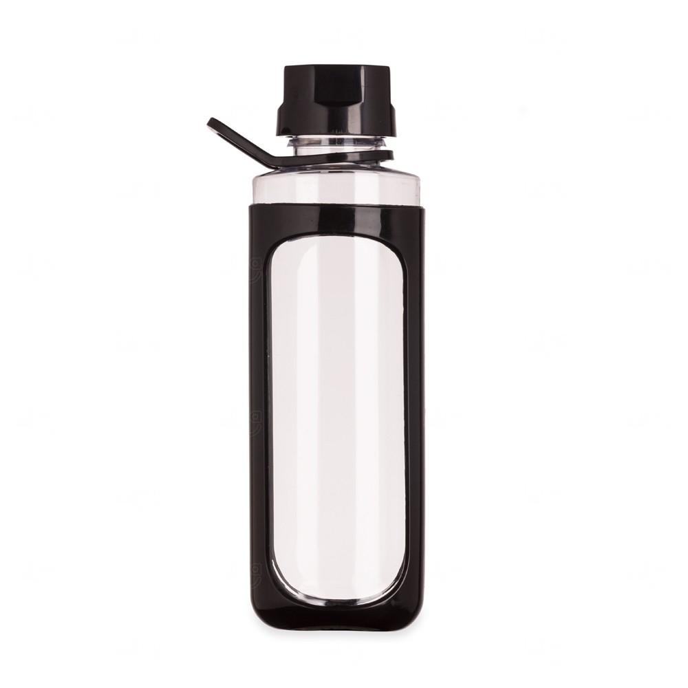 Garrafa Plástica Cover - 650 Ml Preto