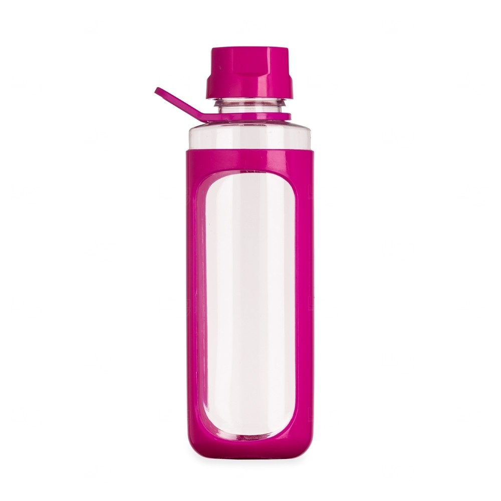 Squeeze Plástica Cover Personalizada - 650 Ml Rosa Pink