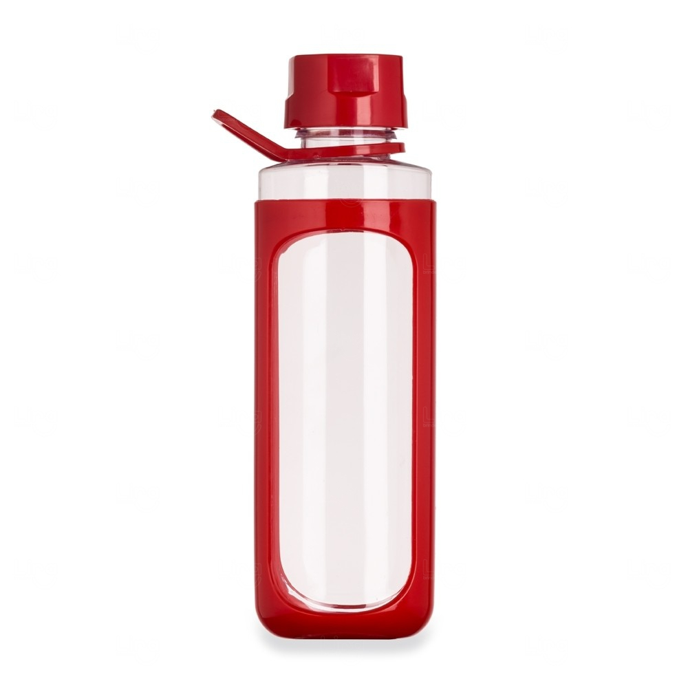 Garrafa Plástica Cover - 650 Ml Vermelho
