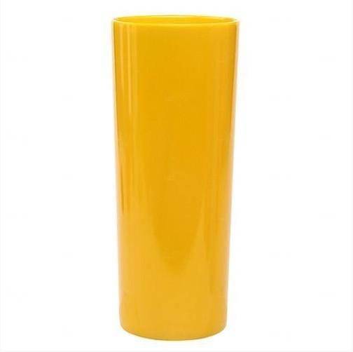 Copo Long Drink Personalizado - 350 ml (Leitoso ou Cristal) Amarelo