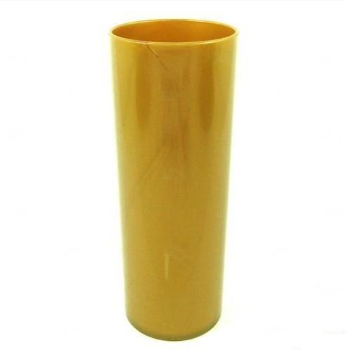 Copo Long Drink Personalizado - 350 ml (Leitoso ou Cristal) Dourado