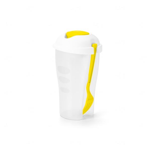 Copo para Salada Personalizado Amarelo