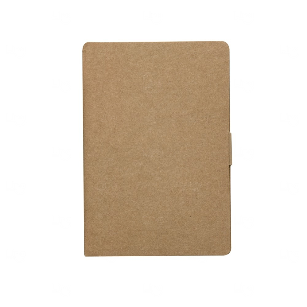 Bloco de Anotações Autoadesivo Personalizado - 15,3 x 10,3 cm Kraft