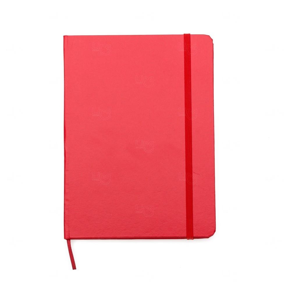 Caderno Tipo Moleskine C/ Pauta Personalizado