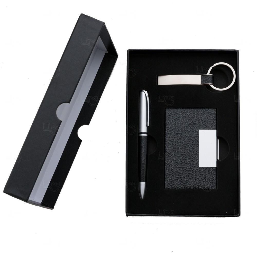 Kit Executivo 3 Peças Personalizado - 3 Peças