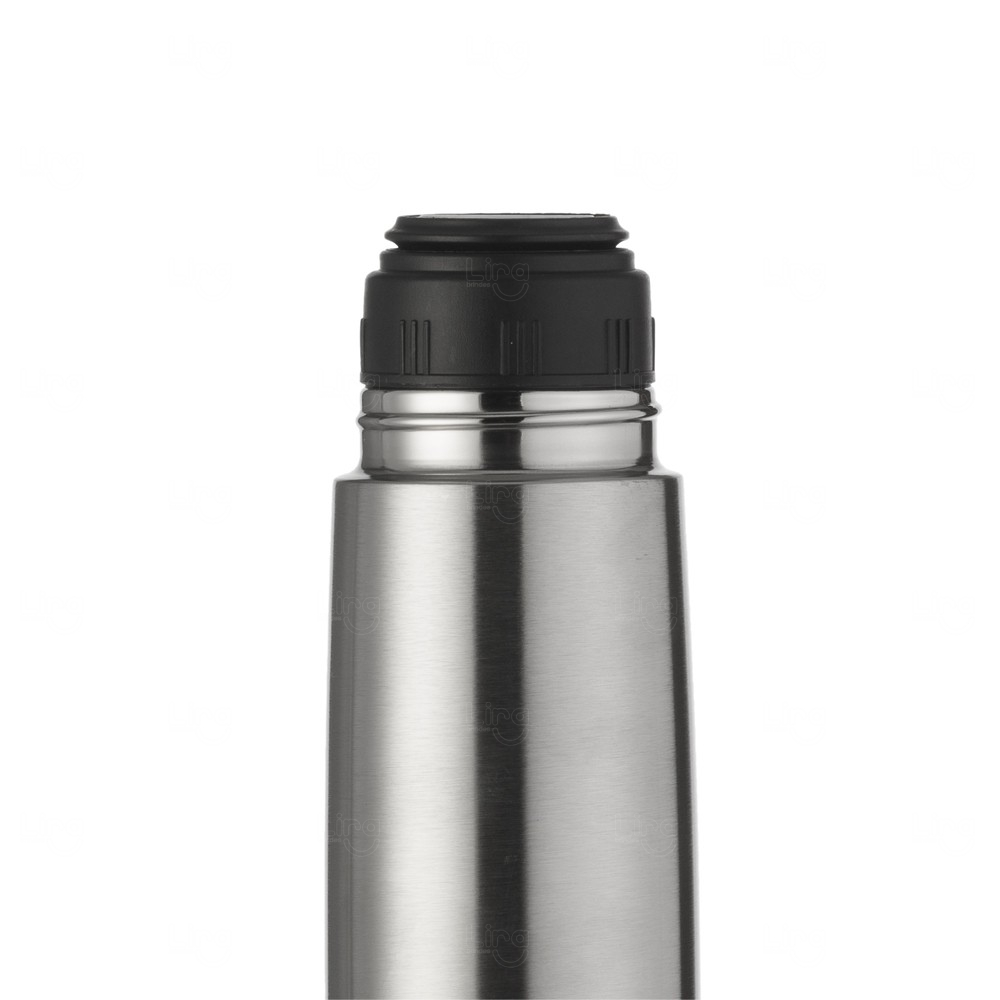 Mini Garrafa Térmica de Inox Personalizada - 350 Ml