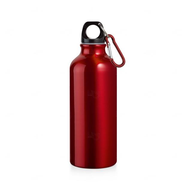 Garrafa Squeeze Personalizada Vermelho