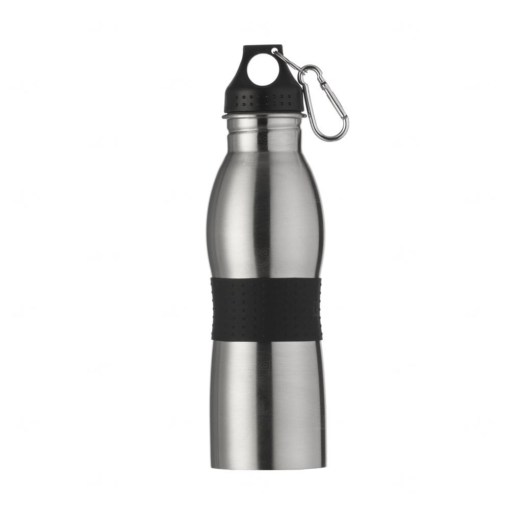 Squeeze Alumínio Personalizado - 600ml Preto