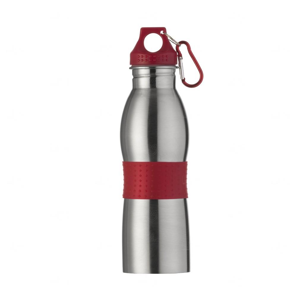 Squeeze Alumínio Personalizado - 600ml Vermelho