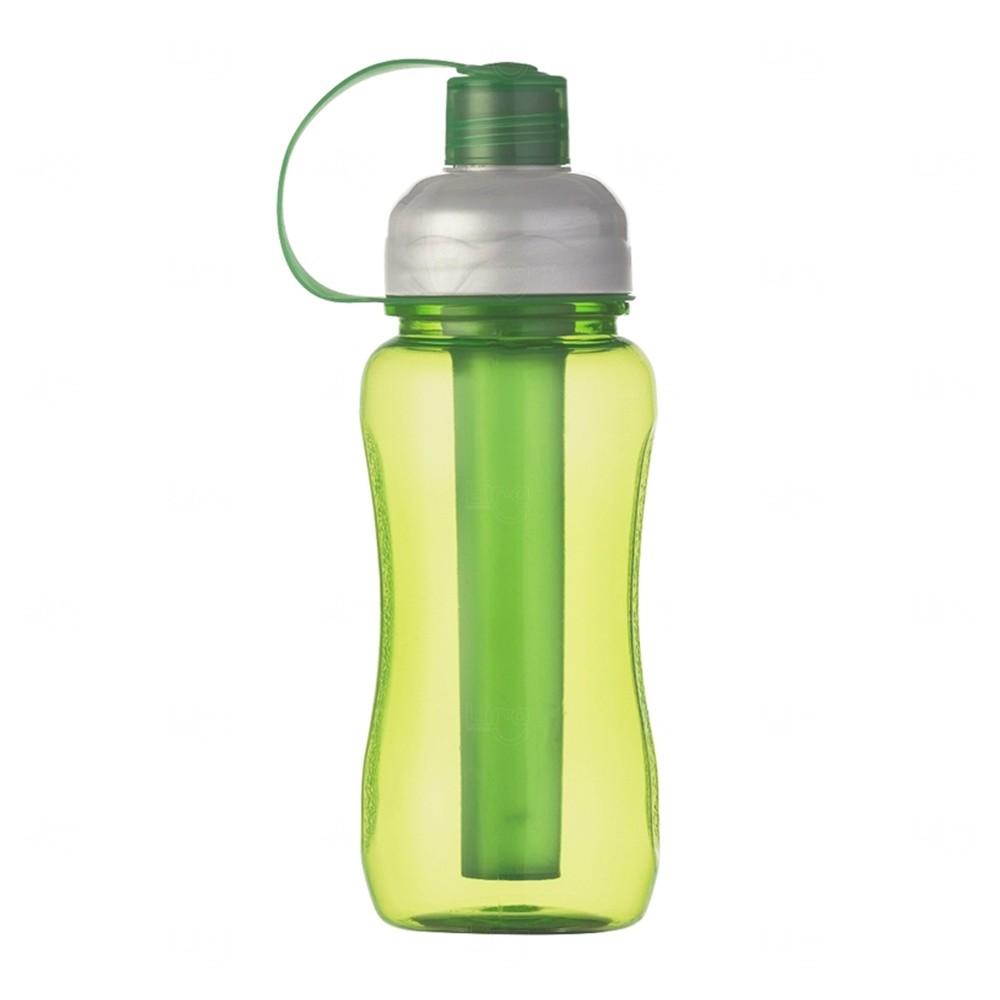Squeeze Plástica IceBar Personalizada - 400 ml Verde